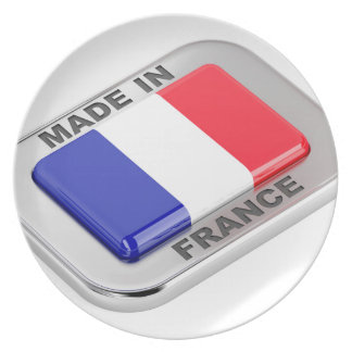 Made in France Plate