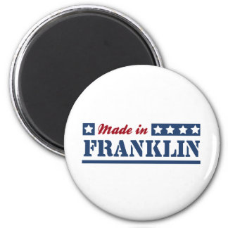 Made in Franklin WI Magnets