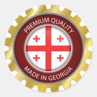 Made in Georgia Flag, Georgian Flag Seal Icon