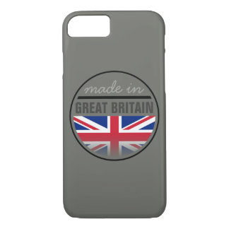 """Made in ...""""GREAT BRITAIN"""" iPhone 7 Case"""