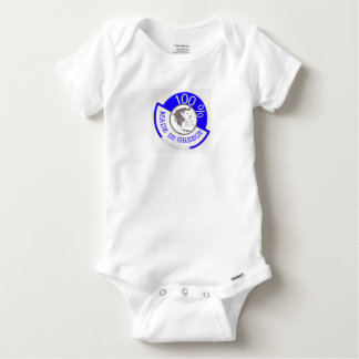 Made In Greece 100% Baby Onesie