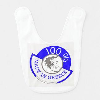 Made In Greece 100% Bib