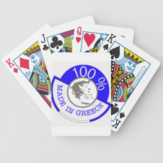 Made In Greece 100% Bicycle Playing Cards