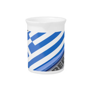 Made in Greece badge Pitcher