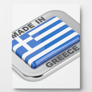 Made in Greece badge Plaque