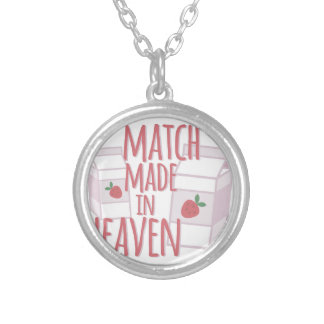 Made In Heaven Silver Plated Necklace