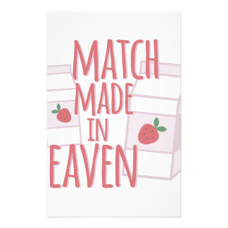 Made In Heaven Stationery