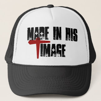 """Made in """"HIS"""" Image Trucker Hat"""