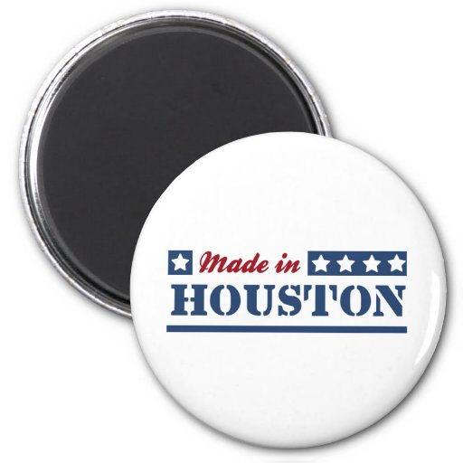 Made in Houston Refrigerator Magnet