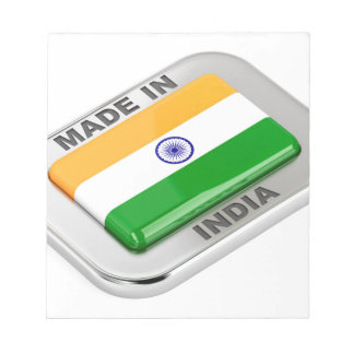 Made in India Notepad