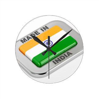 Made in India Round Clock