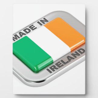 Made in Ireland Plaque