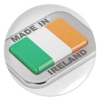 Made in Ireland Plate