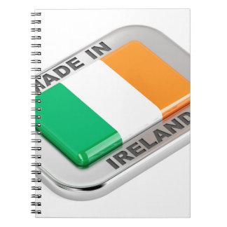 Made in Ireland Spiral Notebook