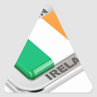 Made in Ireland Triangle Sticker