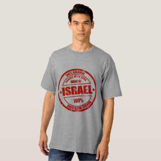 Made In Israel - Long T Shirt