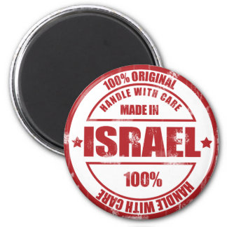 Made In Israel Magnet