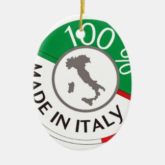 MADE IN ITALY 100% CERAMIC ORNAMENT