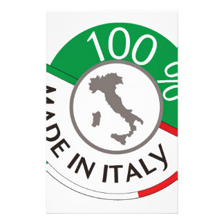MADE IN ITALY 100% CUSTOMIZED STATIONERY
