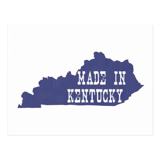 Made In Kentucky Postcard