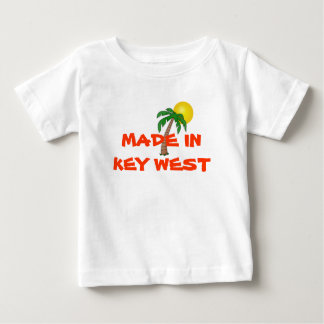 """""""Made in Key West"""" baby shirt"""