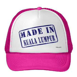 Made in Kuala Lumpur Mesh Hats