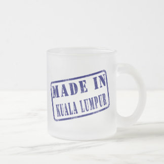 Made in Kuala Lumpur Mugs