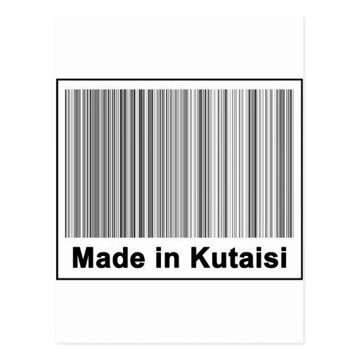 Made In Kutaisi Postcard