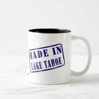 Made in Lake Tahoe Two-Tone Coffee Mug