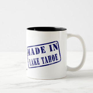 Made in Lake Tahoe Two-Tone Mug
