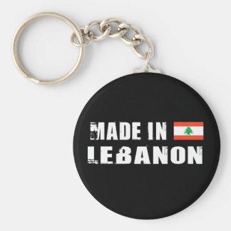 Made in Lebanon Basic Round Button Key Ring