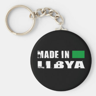 Made in Libya Basic Round Button Key Ring