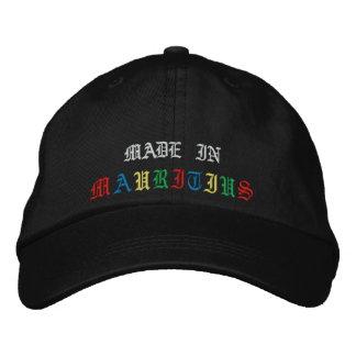 MADE IN, M, A, U, R, I, T, I, U, S EMBROIDERED HATS