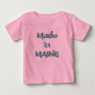Made in Maine (aqua) Baby T-Shirt