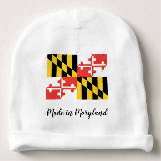 Made in Maryland Custom Baby Cotton Beanie Baby Beanie