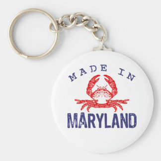 Made In Maryland Key Ring