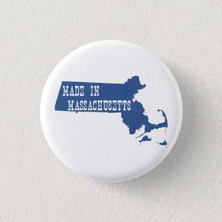 Made In Massachusetts 3 Cm Round Badge