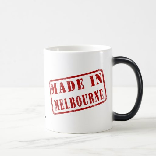 Made in Melbourne Coffee Mugs