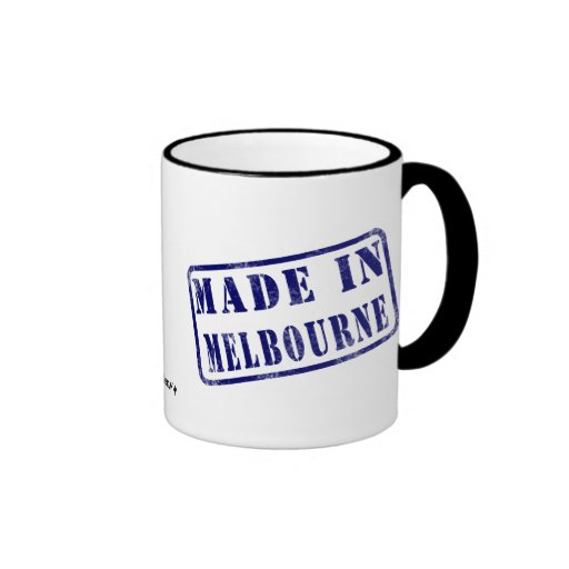 Made in Melbourne Coffee Mug