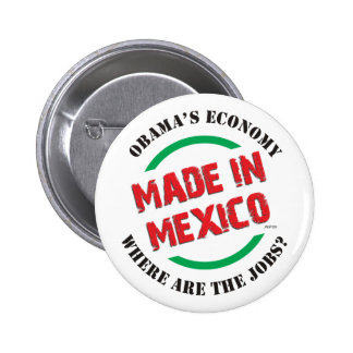 Made In Mexico 6 Cm Round Badge