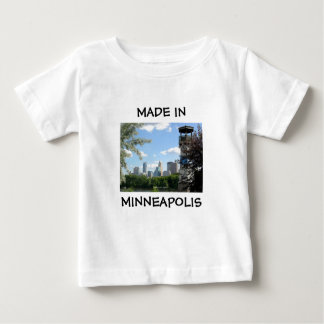Made in Minneapolis baby shirt
