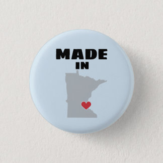 Made In Minnesota Button