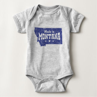 Made In Montana Baby Bodysuit