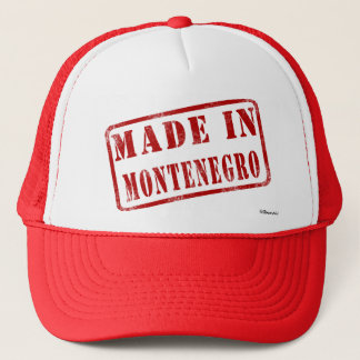 Made in Montenegro Trucker Hat