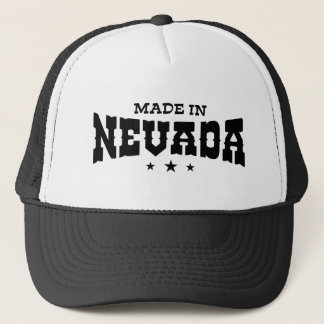 Made In Nevada Trucker Hat