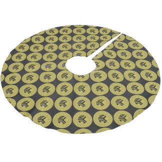 Made In New York Brushed Polyester Tree Skirt