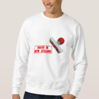 Made in New Zealand Stamp or Chop on Paper Concept Sweatshirt