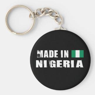 Made in Nigeria Basic Round Button Key Ring