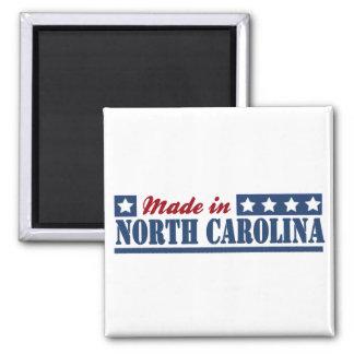 """Made In North Carolina""""North Carolina state""""N Square Magnet"