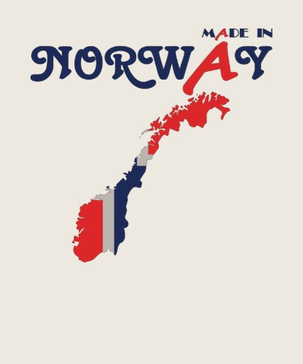 Made In Norway Tee Shirts